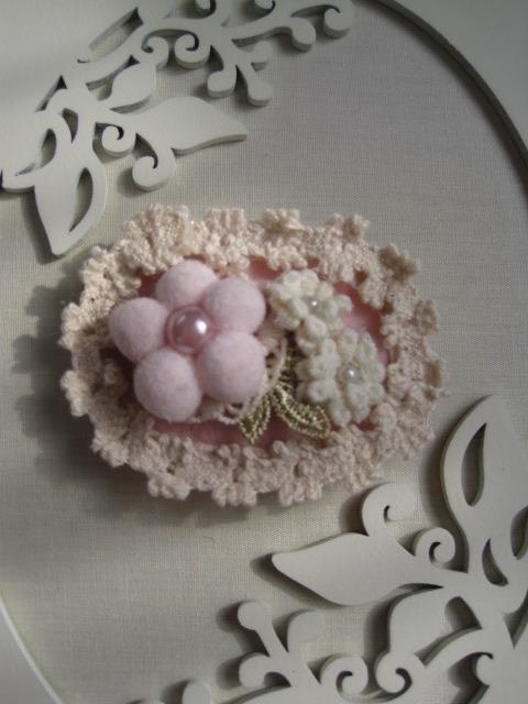 お花のヘアーアクセサリー(no. 11)