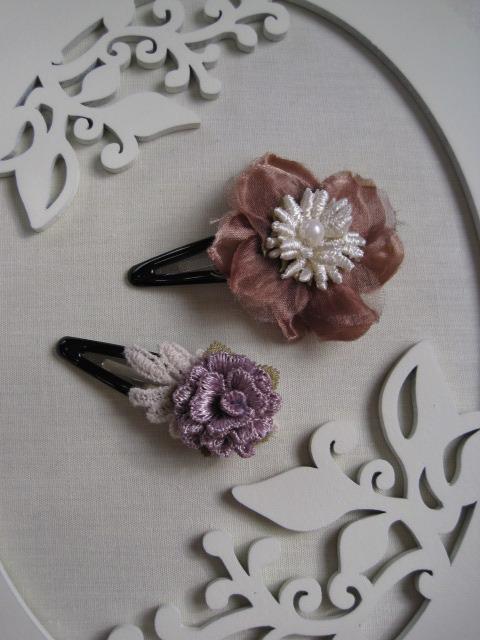 お花のヘアーアクセサリー(no. 13)