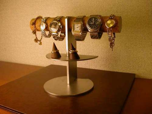 4〜6本掛け腕時計ディスプレイスタンド