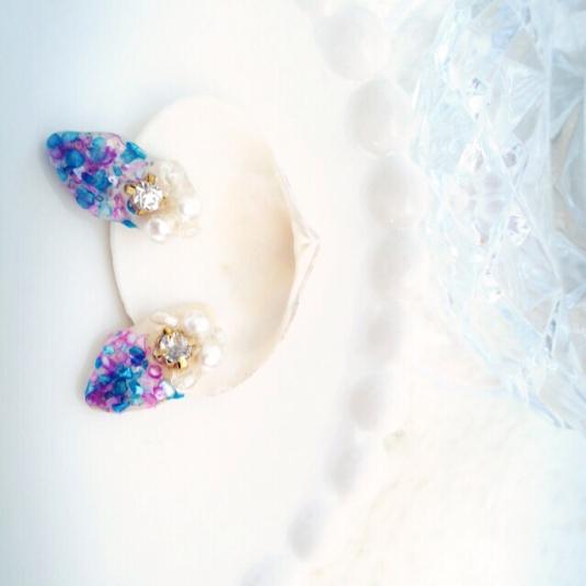 紫陽花のシェル