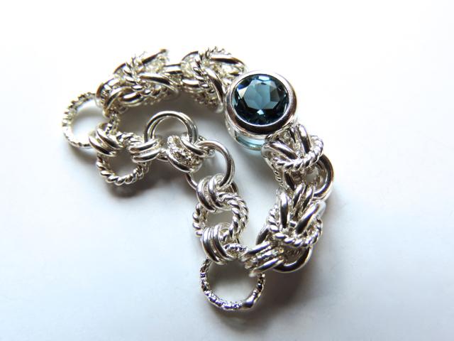A様♪御予約作品『 Eternal bleu ( all ) 』Ring by SV925