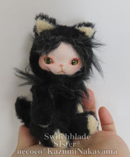 ちびフェイスタイプドール*黒猫*
