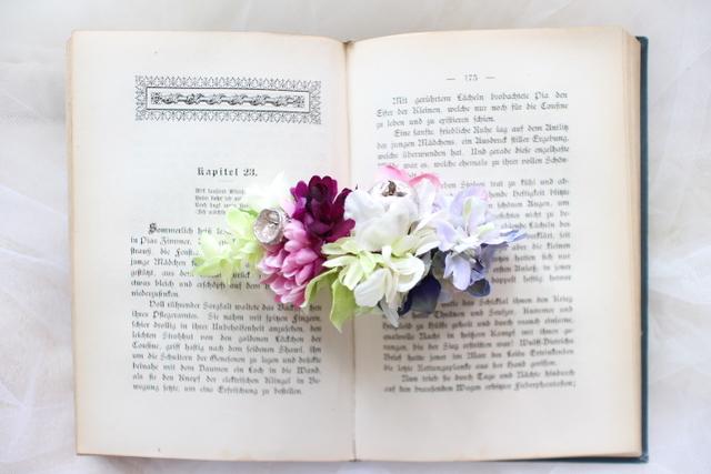 arrangement * brrette  #113 [夏の浴衣姿に・・しっとり紫陽花]
