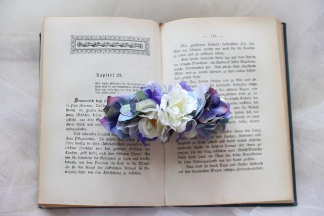 arrangement * brrette  #114 [夏の浴衣姿に・・しっとり紫陽花]