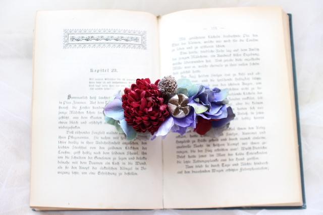 arrangement * brrette  #115 [夏の浴衣姿に・・しっとり紫陽花]