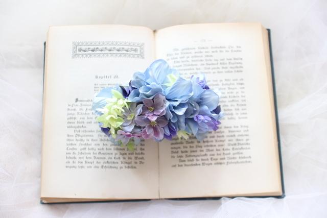 arrangement * brrette  #117 [夏の浴衣姿に・・しっとり紫陽花]