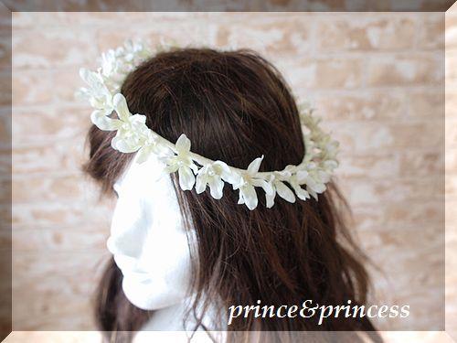 真っ白な花びら*花冠*