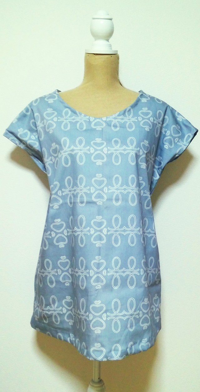 summer sale!no61*simple*tunic  ice gray