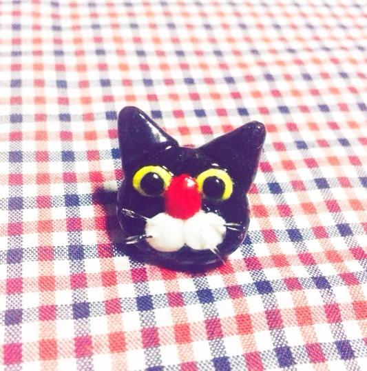sale! 黒猫のプチピアス