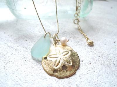 Seaside Necklace 〜海からのおくりもの〜