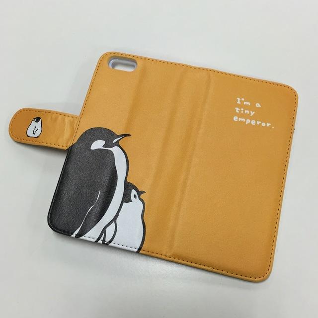 ★受注作成★ iPhone手帳型ケース コウテイペンギン