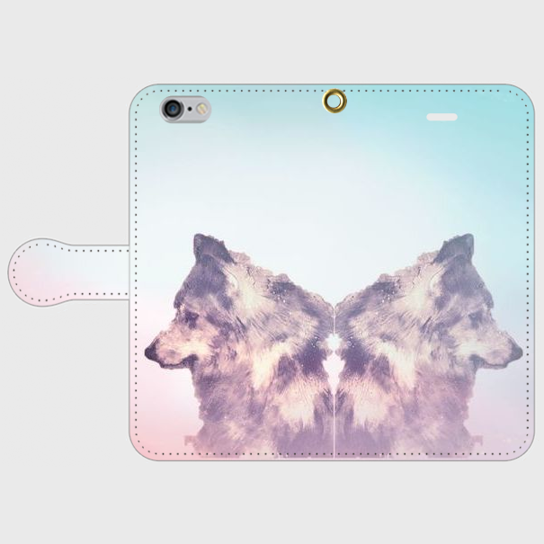 Dream  iPhone7/7plus対応*受注制作*手帳型スマホケース