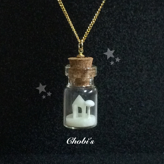 ボトルハウスのネックレス(Bottle Hous...