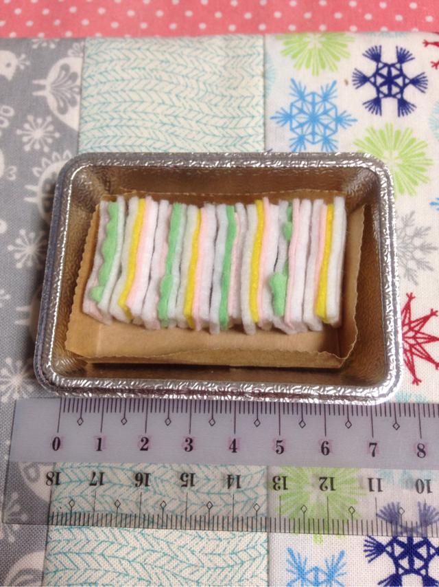 ミニチュア☆サンドイッチ