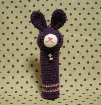 リップケース№3 紫うさ子