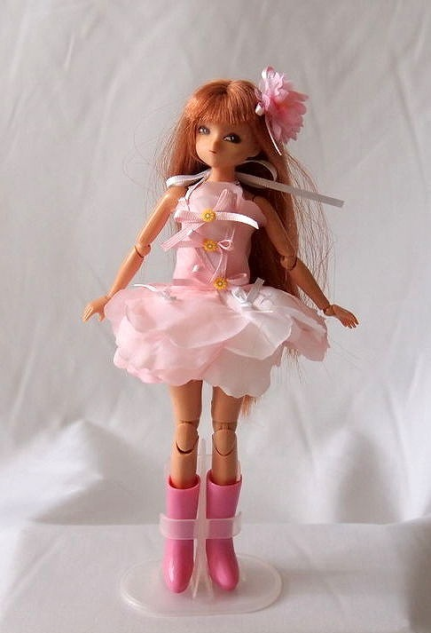 【21〜22cmドール用】お花の妖精ワンピース