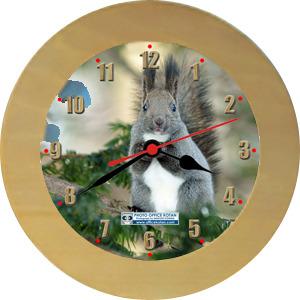 壁掛時計「エゾリス 1」