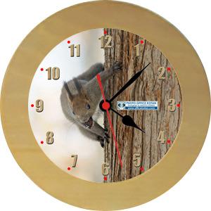 壁掛時計「エゾリス 4」