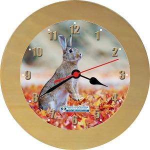 壁掛時計「ノウサギ 1」