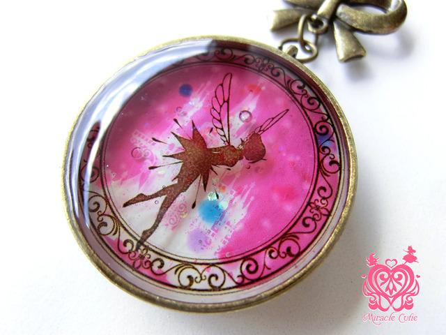 (生産終了)妖精のペンダント スプリングピンク