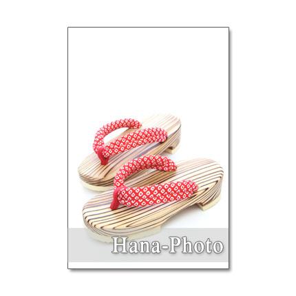 1153)  下駄、ヨーヨー、うちわなど、夏!!  ポストカード5枚組
