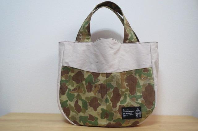 【saleprice】9号帆布のバッグ 迷彩