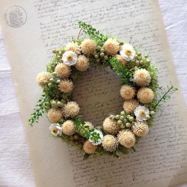 moco moco tenori wreath(モコモコ 手の...