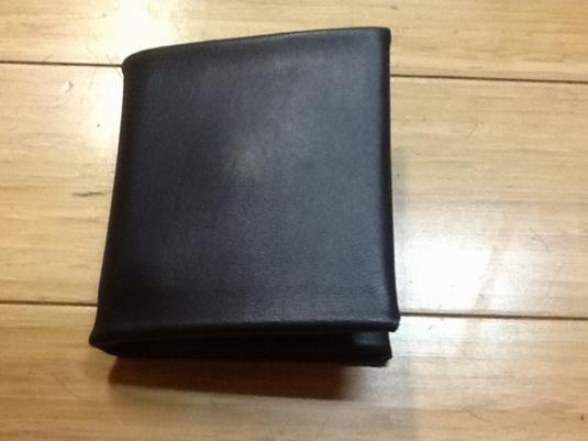 ノンステッチ2折財布