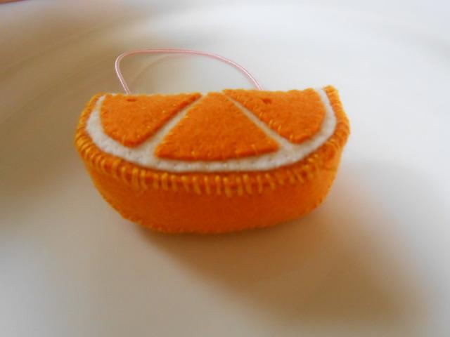オレンジちゃんヘアゴム