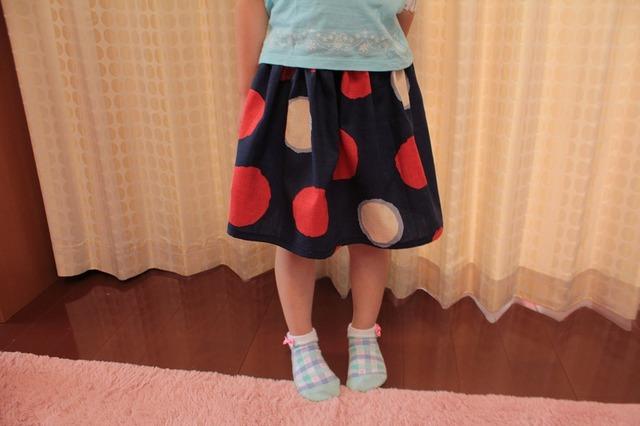 再販☆子供用スカート(マル)