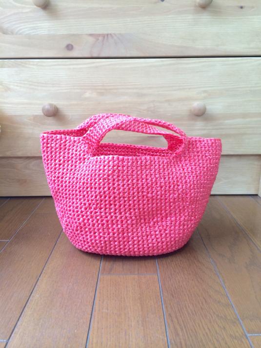 ami bag (pink) 内袋付き
