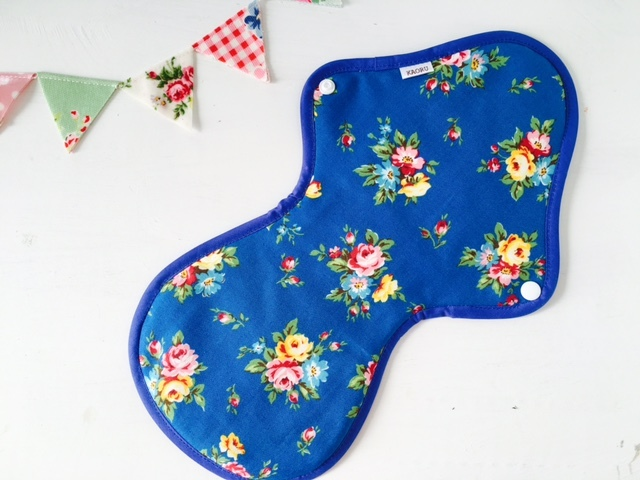 可愛い布ナプキン『bluegarden』夜用LLサイズ