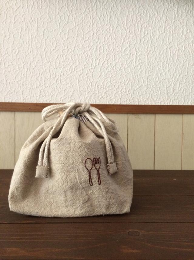 お弁当袋(スプーン&フォーク4)