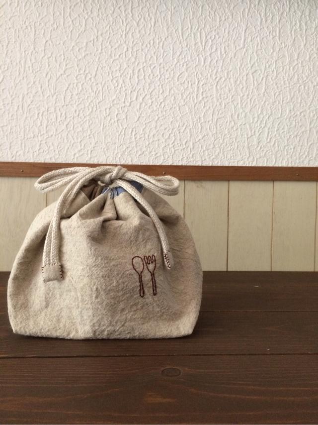 お弁当袋(スプーン&フォーク6)