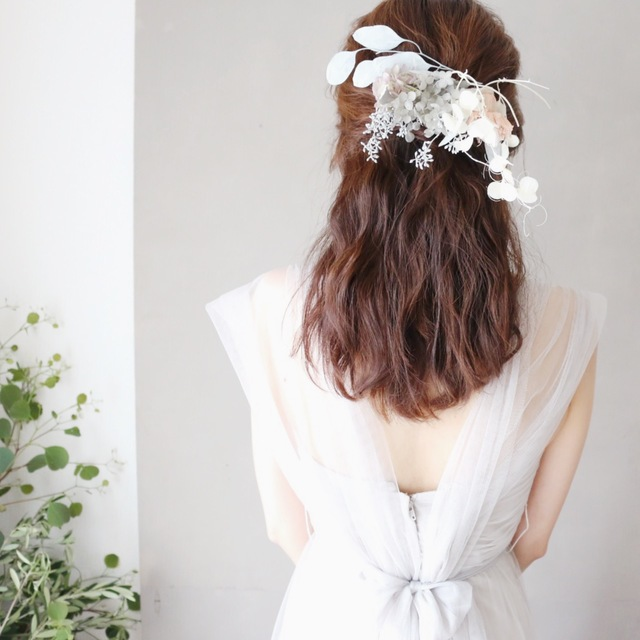 [Hare] bouquet de mariee headdress