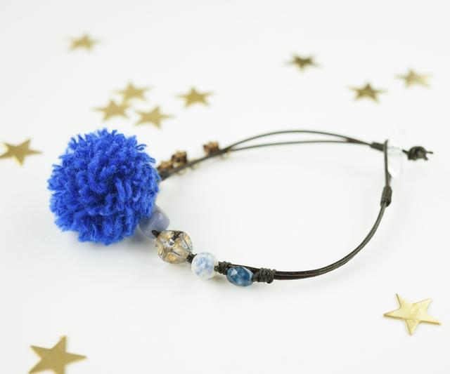 Night blue bracelet