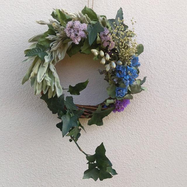 夏の扉*小さな森のリース