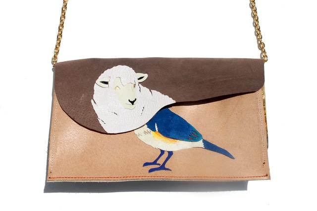 montage bag【ヒツジビタキ】
