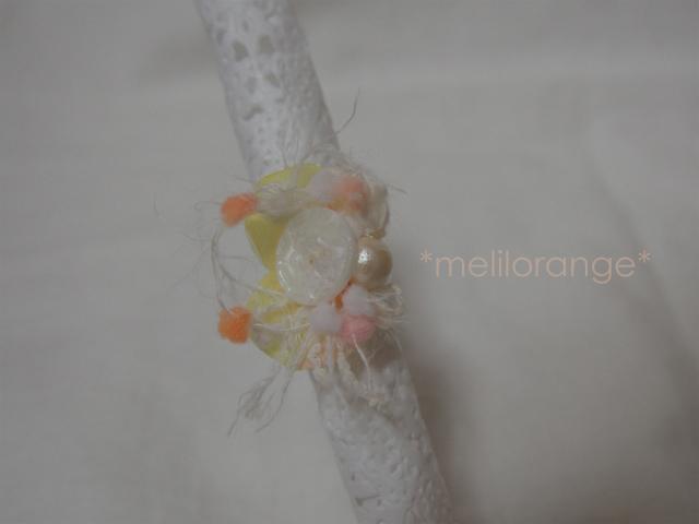 【オーダー品】on petals ring * 花び...