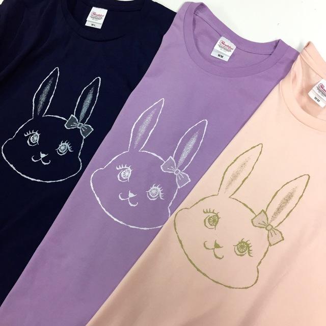 T-shirts - usagi - pink