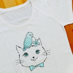 T-shirts - cat & pacific parrotlet