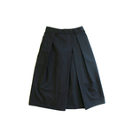 タイプライター tack×gather longskirt_darknavy