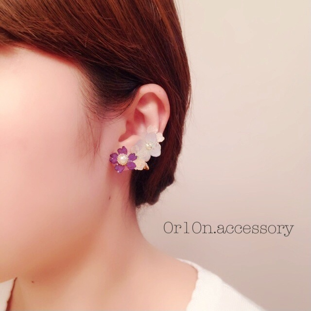 flower Earring.【no/2】