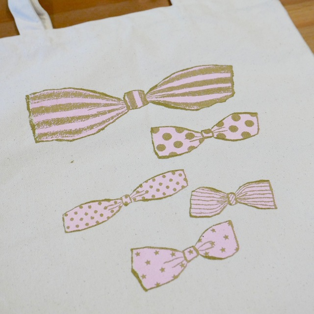 tote bag -sweet ribbons