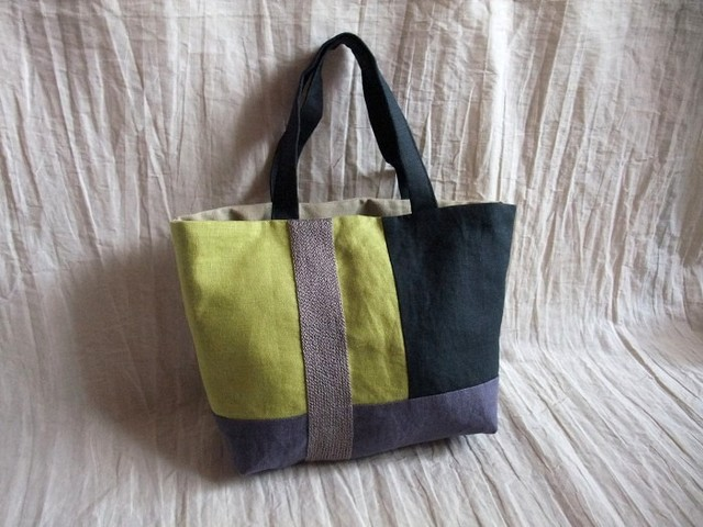 itoiro bag (black/green)