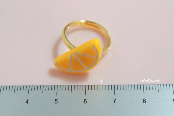 【オレンジ リング】フルーツタイム♪