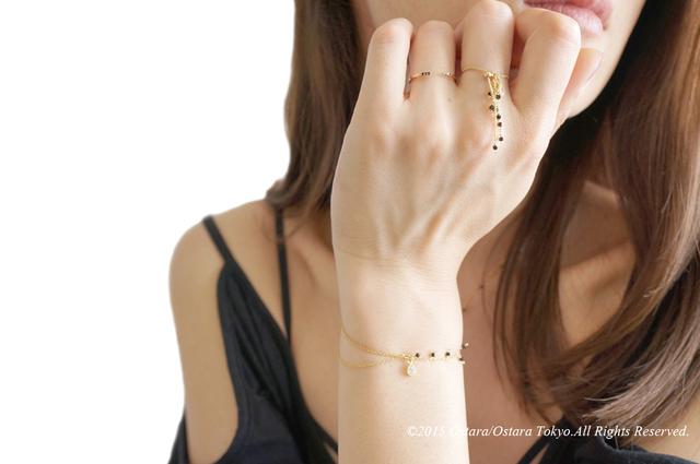 【Monica】Dangle Swarovski Aadjustable Ring