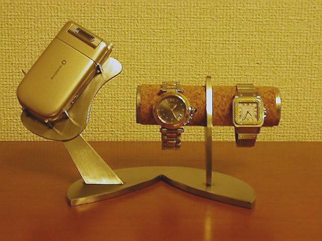 時計スタンド インテリア携帯電話&腕時計スタンド