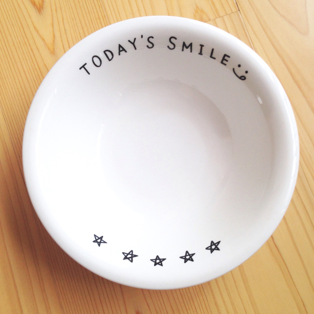 TODAY'S SMILE   カレー皿