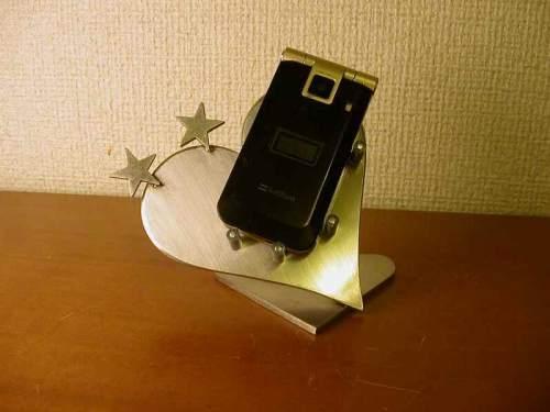 ハートダブルスター携帯電話スタンド